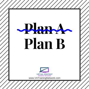 Back Up Plan