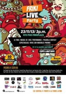 friki live party