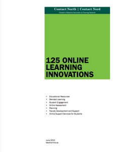 125 Online Learning Innovations Booklet Icon