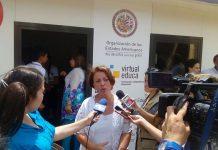 Ideli Salvatti en la frontera Colombia-Venezuela
