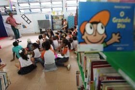 Aniversário da Biblioteca Monteiro Lobato Foto: Elói Corrêa/GOVBA