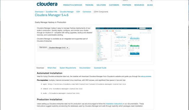 cloudera manager download