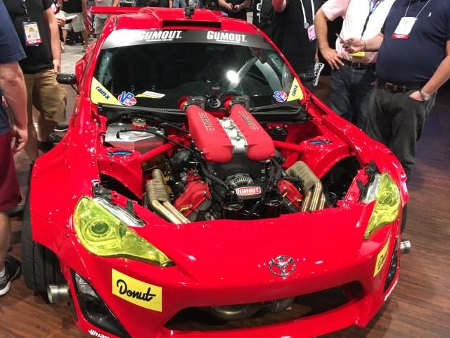 Ryan Tuerck's Ferrari 458 Toyota FRS