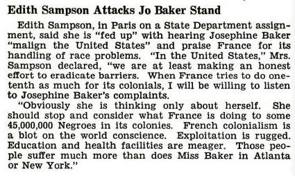 Josephine Baker Jet