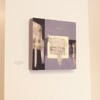 Painting by Carol Bajen-Gahm, Installation View at Sivarulrasa Gallery