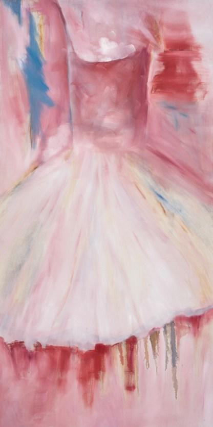 Painting by Gayle Kells at Sivarulrasa Gallery
