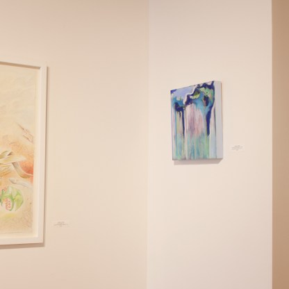 Paintings by Sarah Anderson, Installation View at Sivarulrasa Gallery