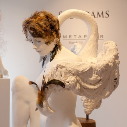 Sculpture by Sue Adams at Sivarulrasa Gallery