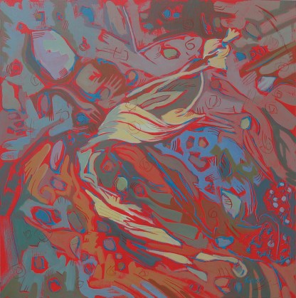 Painting by Susan Took at Sivarulrasa Gallery