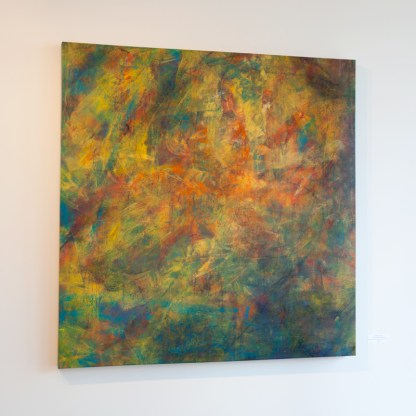 Painting by Catherine Gutsche, Installation View at Sivarulrasa Gallery