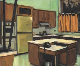 Painting by Gillian Willans at Sivarulrasa Gallery