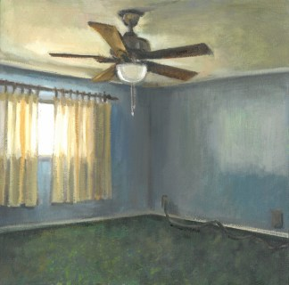 Painting by Gillain Willans at Sivarulrasa Gallery