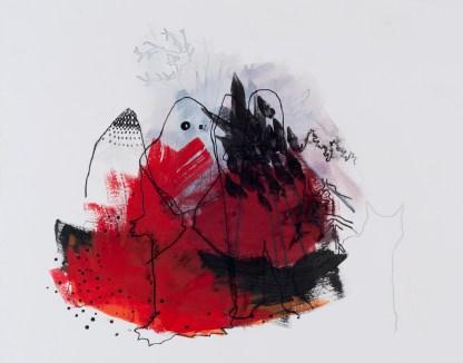Michael Pittman paintings at Sivarulrasa Gallery