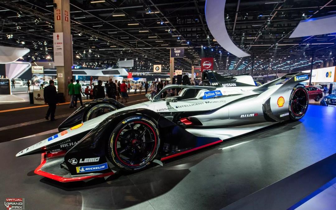 Simuladores Fórmula E Nissan @ SDA 2018