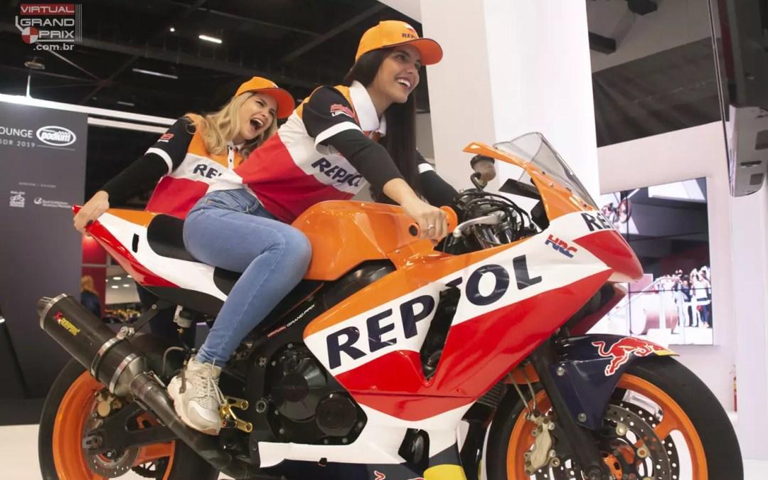 Simulador MotoGP Repsol @ Salão Duas Rodas