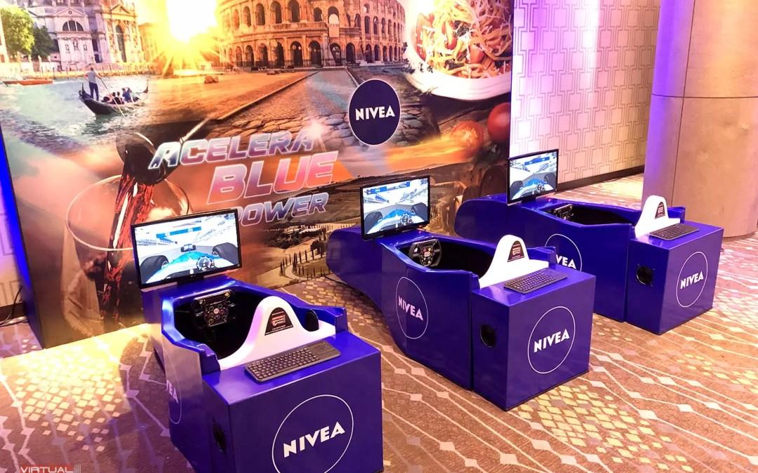 Simuladores Cockpit F-1 Nivea @ Convenção de Vendas / Recife – PE