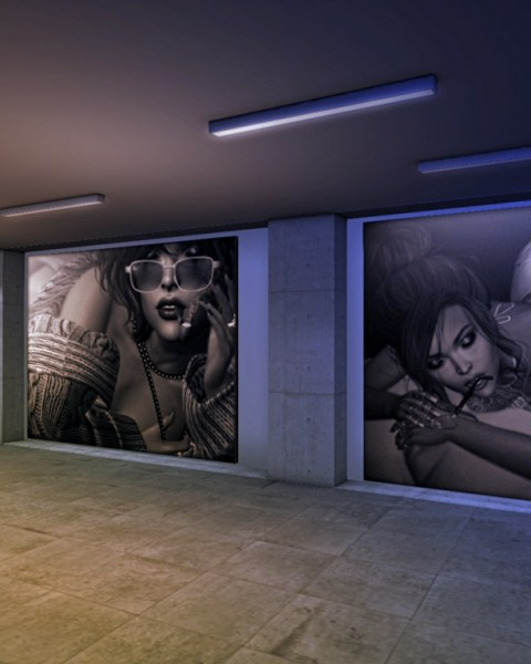 DixMix Art Gallery in Second Life