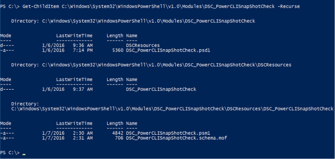 PowerCLI DSC Resource