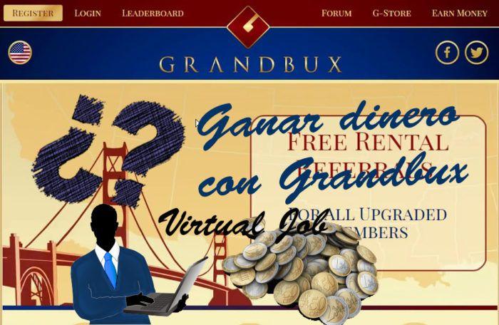 Estrategia en Grandbux sin Invertir Dinero.