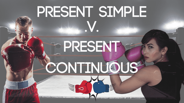 Present Simple v Present Continuous