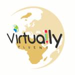 Gold Virtually Fluent globe