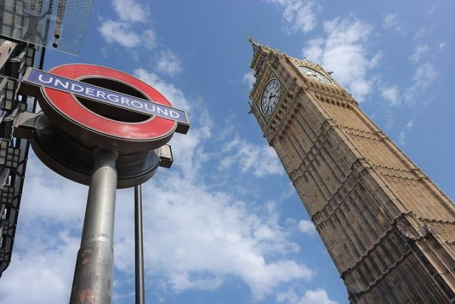 Big Ben and London Underground