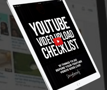 YouTube video checklist