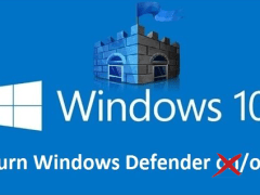 Windows 10 - Windows Defender