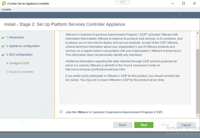 VCSA PSC Install