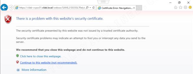 VCSA vCenter Configuration