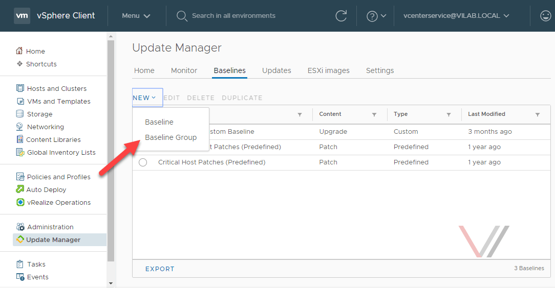 vSphere 6 7 Update Manager Tip #1 - VirtuallyInclined com