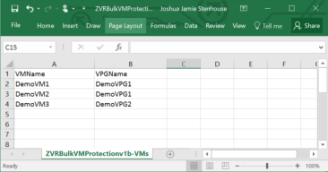 BulkVMProtectionVMExample No ZCM