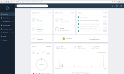 Rubrik Interface