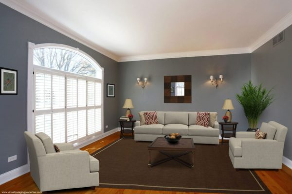 staging a living room how to decorate your small for christmas home gallery example photos virtually properties virtual staged 12