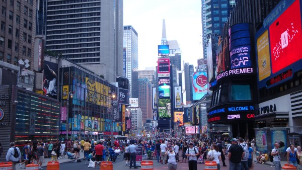 Broadway Times Square Nyc Crossroads Of World