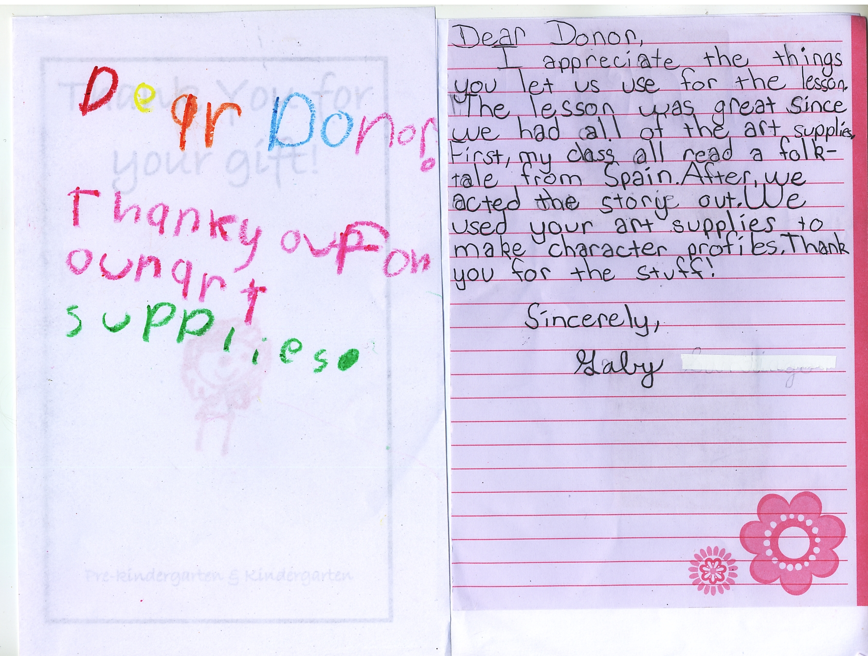 Thank You Notes From Ms R S Class Nyc Virtual Office