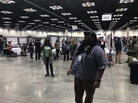Demoing the HoloLens at GSA