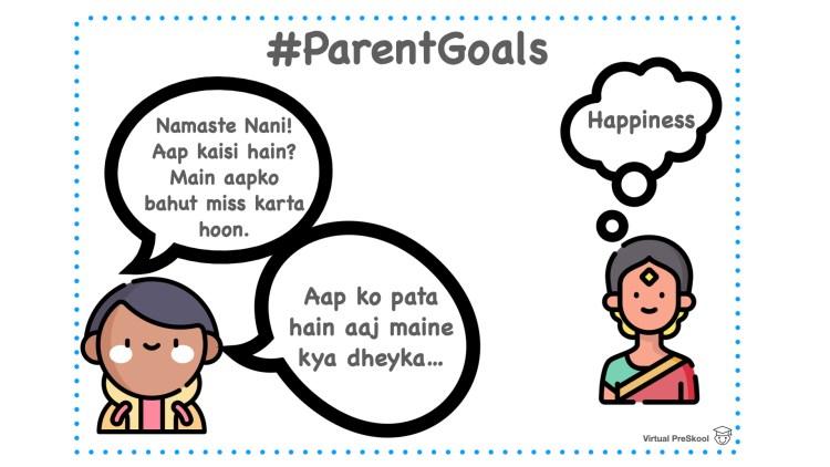 Learn Hindi Parent Goals Talking to Nani