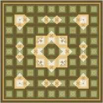 Log Cabin Quilting 17
