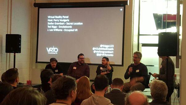 VRTO Virtual Reality Panelists January 2016