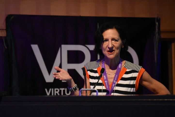 Dr. Sara Diamond at VRTO 2017