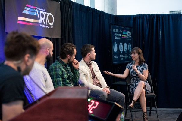 Laura Mingail discusses location-based gaming at VRTO 2019
