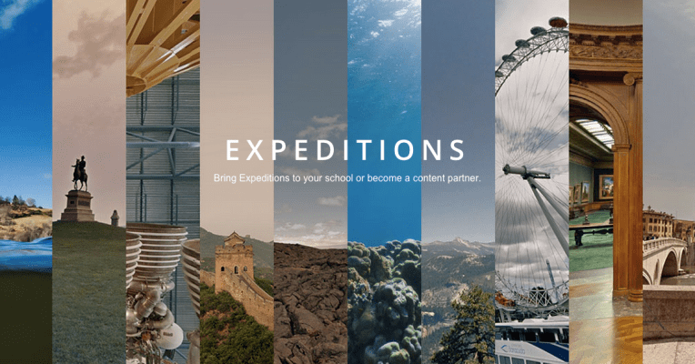 Virtual Field Trips continued: First Impressions of Google Expeditions Beta