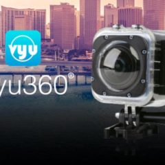 Vyu360® Celebrates the Start of the Exciting Age of VR Personal Recording and the Rise of 360 Action Cameras