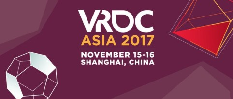 SHANGHAI VRDC ASIA 2017