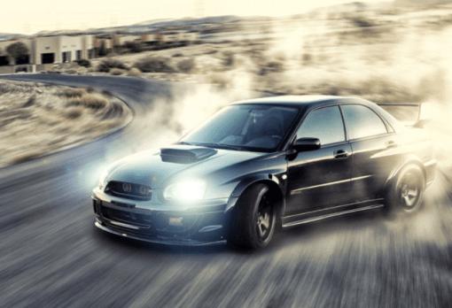 car race motor 360 video