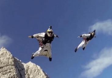 wingsuit 360 video