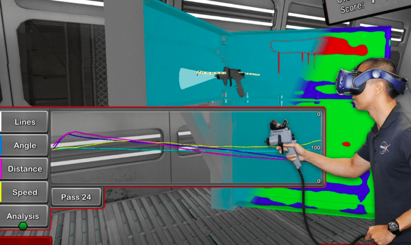 VRSim Launches New Virtual Reality Tool For Faster. More Effective Commercial Painting | Virtual Reality Reporter