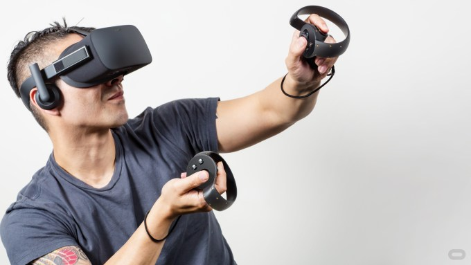 Image result for person using VR