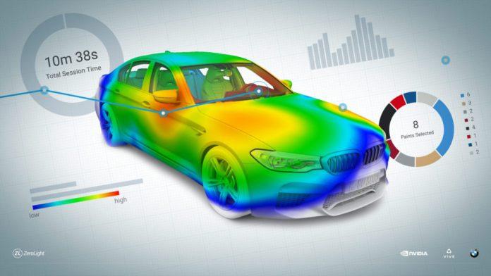 HTC Vive Pro Eye heatmap
